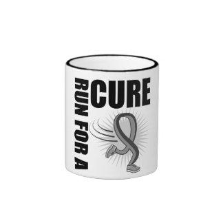 Brain Cancer Run For A Cure Ringer Mug