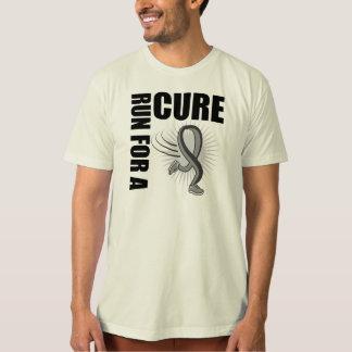 Brain Cancer Run For A Cure T Shirt