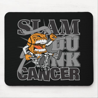 Brain Cancer - Slam Dunk Cancer Mouse Pad