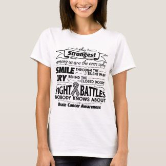 Brain Cancer Strongest Among Us T-Shirt