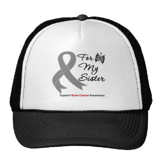 BRAIN CANCER SUPPORT For My Sister Cap