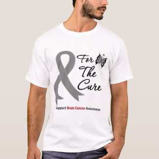 BRAIN CANCER SUPPORT For The Cure T-Shirt