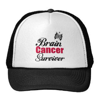 Brain Cancer Survivor Mesh Hat