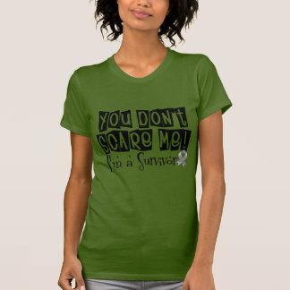 Brain Cancer Survivor You Don't Scare Me Tee Shirts