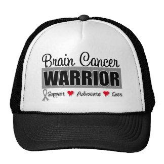 Brain Cancer Warrior Fighter Cap