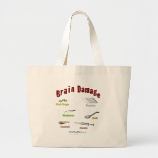Brain Damage Light Tote Bag