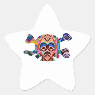 Brain Dead Skull - Meditate Resolve Star Sticker