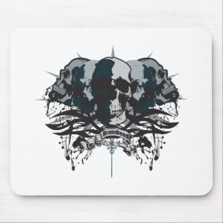 Brain Dead Skull Mouse Pad