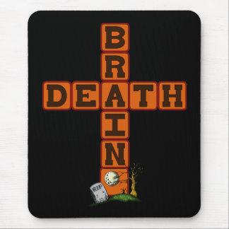 Brain Death Cross Mouse Pad
