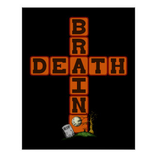 Brain Death Cross Poster