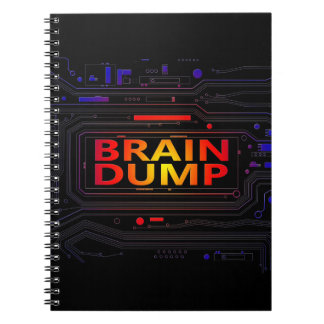 Brain dump concept. notebooks
