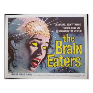 Brain Eaters 11 Cm X 14 Cm Invitation Card