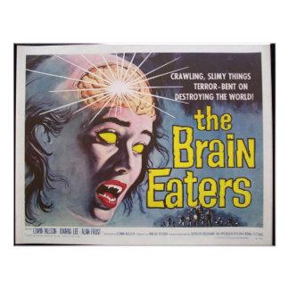 Brain Eaters Custom Invitations