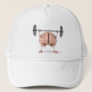 Brain exepcises trucker hat