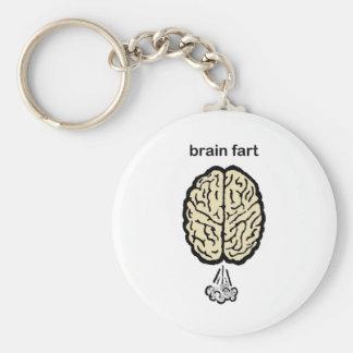 Brain Fart Basic Round Button Key Ring