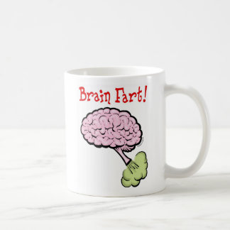 brain fart coffee mug