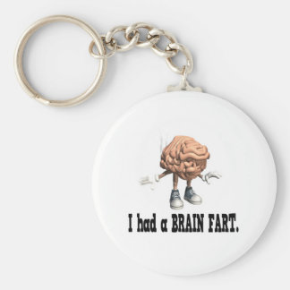 Brain Fart Key Ring