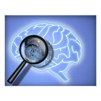 Brain fingerprint invitations