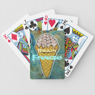 Brain Freeze Bicycle Playing Cards