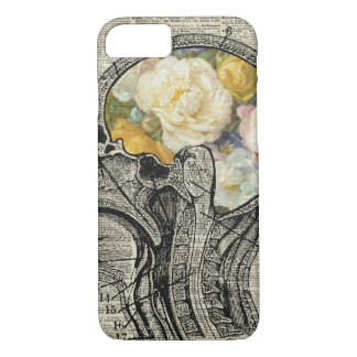 Brain Full Of Flowers,Nature Lover Dictionary Art iPhone 8/7 Case