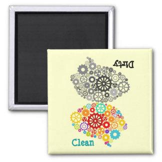 Brain Gears Dirty-Clean Magnet