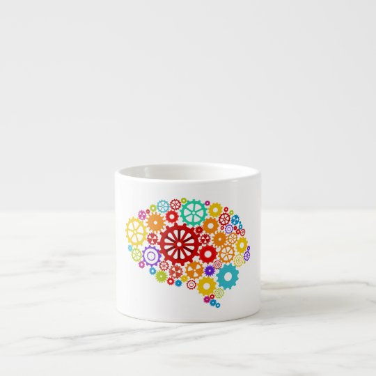 Brain Gears Espresso Mug