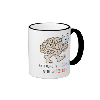 Brain Gone Into GoSub With No Return Mugs