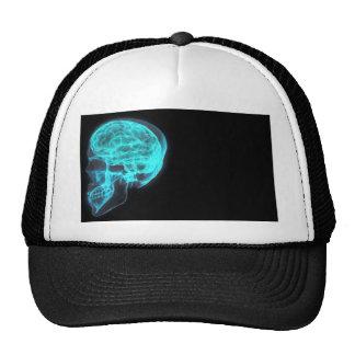 Brain gothic mesh hats