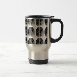 Brain Grid Coffee Mugs
