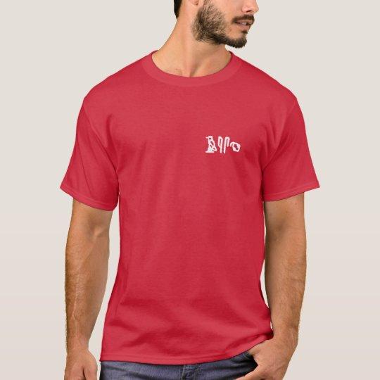 Brain Hieroglyphics (pocket - dark apparel) T-Shirt