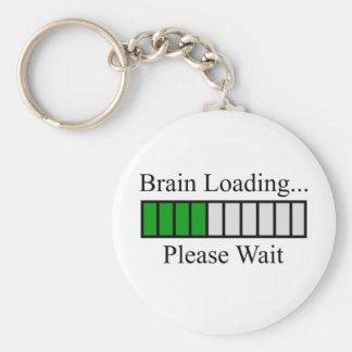 Brain Loading Bar Keychain