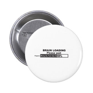 Brain Loading Button