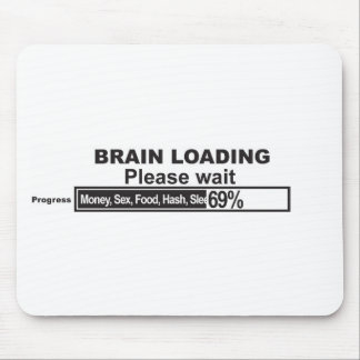 Brain Loading Mouse Pad