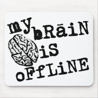 Brain Offline Mousepad