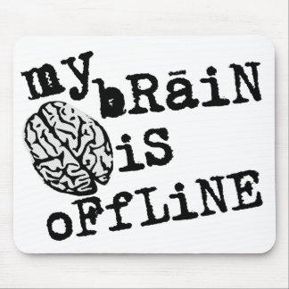 Brain Offline Mousepad