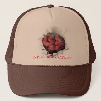 Brain on fire, INTENSE BRAIN ACTIVITY! Trucker Hat