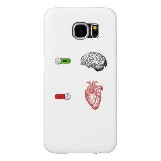 Brain On Heart Off Samsung Galaxy S6 Cases