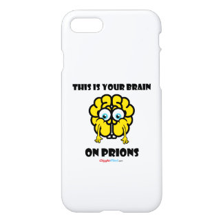 Brain on Prions iPhone 8/7 Case