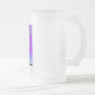 Brain Power Frosted Glass Mug