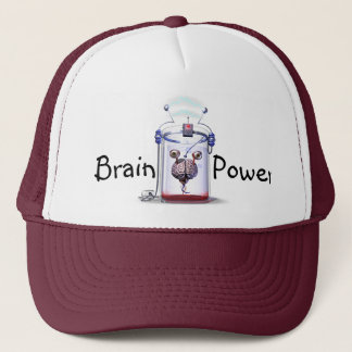 Brain Power Trucker Hat