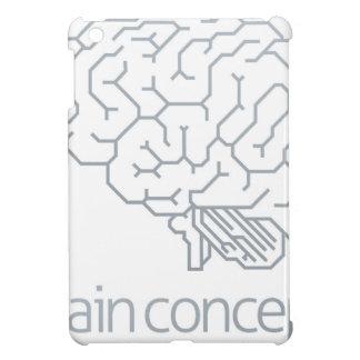 Brain Profile Concept Cover For The iPad Mini