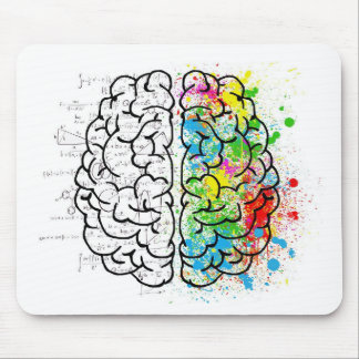 brain series mouse mat