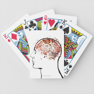 Brain Shattering Bicycle Playing Cards