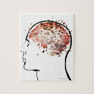 Brain Shattering Jigsaw Puzzle