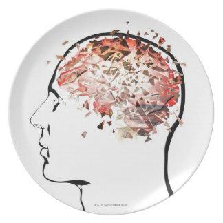 Brain Shattering Plate