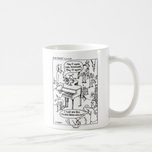 "Brain Shorts ""Chicken Dance"" by Jim Kraft Coffee Mug"