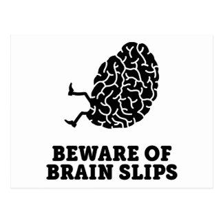 Brain Slips Postcard