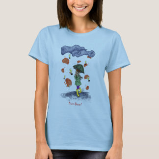 Brain Storm Baby-Doll T-Shirt Light Blue