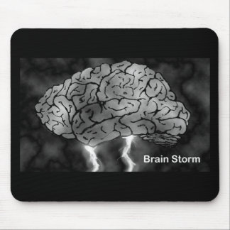 Brain Storm Mouse Mat