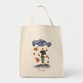 Brain Storm! Organic Grocery Tote